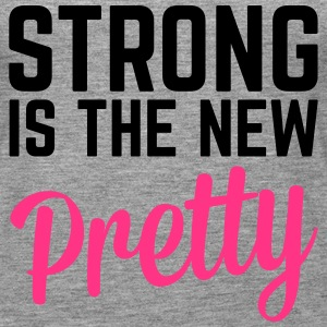 Strong Is the New Pretty  Tops - Women's Premium Tank Top