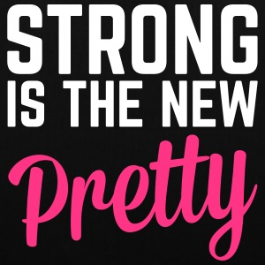 Strong Is the New Pretty  Sacs et sacs à dos - Tote Bag