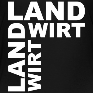 Landwirt  T-Shirts - Teenager Premium T-Shirt