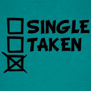 Single taken Tick Tick Tick cross T-Shirts - Men's T-Shirt