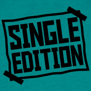 Single Edition paper glued on paper plate T-Shirts - Men's T-Shirt