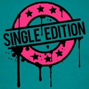 Single Edition stamp graffiti pink award T-Shirts - Men's T-Shirt