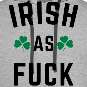 Irish As F*ck Bluzy - Bluza męska Premium z kapturem