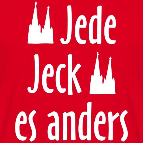 Jede Jeck es anders - Köln Spruch