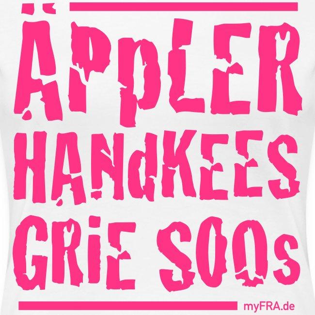 Äppler Handkees Grie Soos