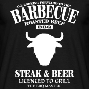 Barbecue  T-shirts - T-shirt herr
