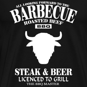 Barbecue  T-shirts - Mannen Premium T-shirt