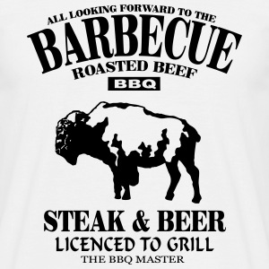 Barbecue T-shirts - Herre-T-shirt