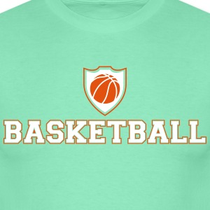Basketball Ecusson Tee shirts - T-shirt Homme
