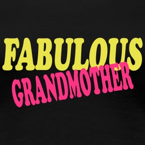 Fabulous grandmother T-shirts - Premium-T-shirt dam