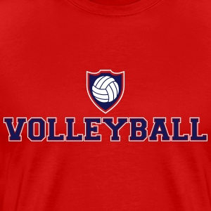Volleyball Ecusson Tee shirts - T-shirt Premium Homme