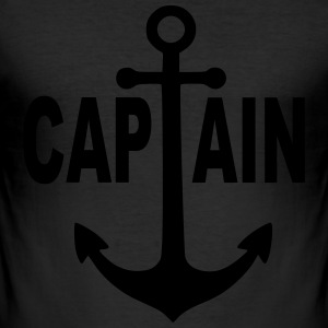 Kapitän  Captain - black label - Männer Slim Fit T-Shirt