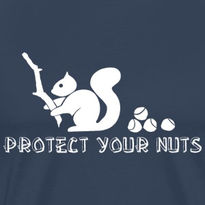 Protect your nuts T-Shirts - Men's Premium T-Shirt