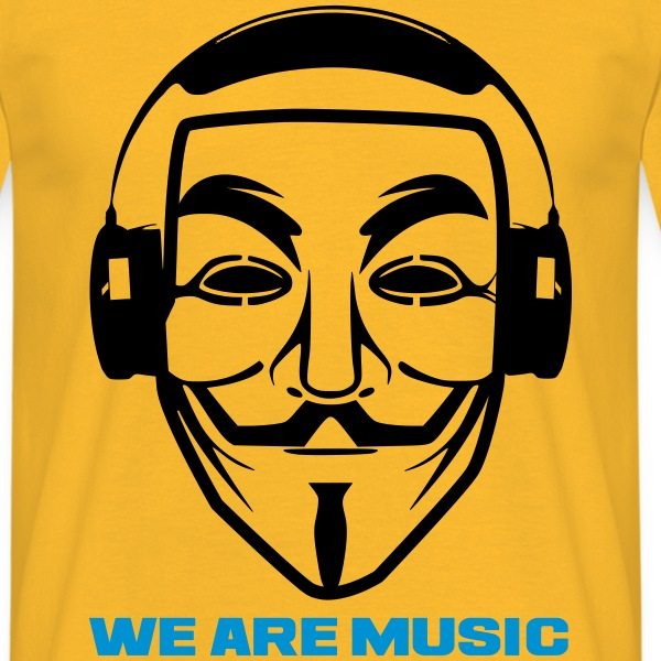 We are music  T-Day2015 - T-shirt Homme