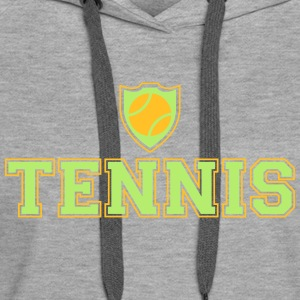 Tennis Sweat-shirts - Sweat-shirt à capuche Premium pour femmes