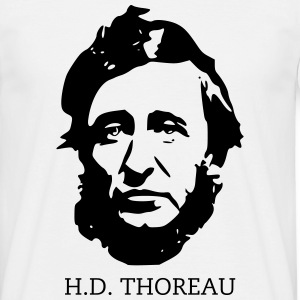 Henry Thoreau libertarian - Men's T-Shirt