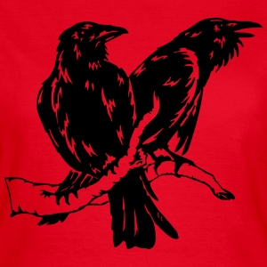 Hugin und Munin 01 T-Shirts - Frauen T-Shirt