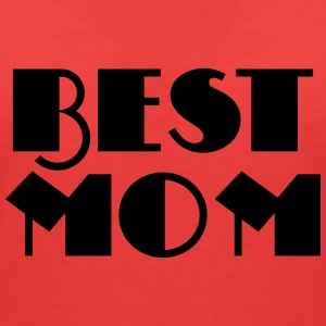 Best Mom T-Shirts - Women's V-Neck T-Shirt