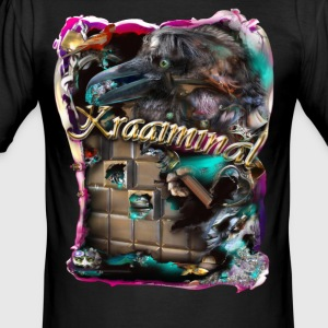 kraaiminal  - slim fit T-shirt