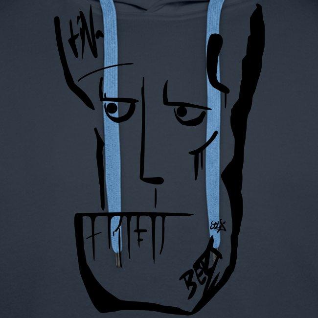 The Unfatigued B Hoodie