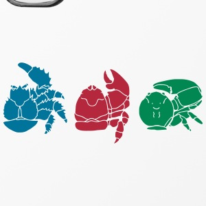 Handyhülle tricolor crabs - iPhone 4/4s Hard Case