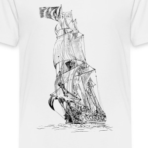 sailing ship Shirts - Teenage Premium T-Shirt