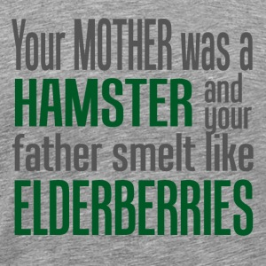 Your mother was a hamster  T-skjorter - Premium T-skjorte for menn