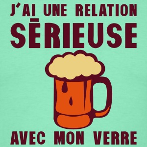 tday2015 relation serieuse verre biere Tee shirts - T-shirt Homme