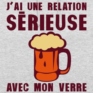tday2015 relation serieuse verre biere Sweat-shirts - Sweat-shirt à capuche unisexe