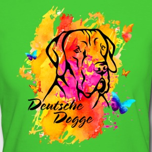 Deutsche Dogge T-Shirts - Frauen Bio-T-Shirt