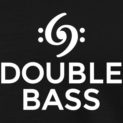 Double Bass Kontrabass Design (Weiß)