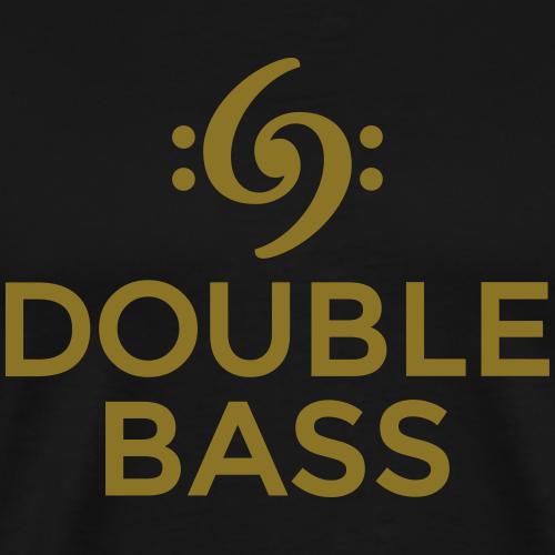 Double Bass Kontrabass Design (Schwarz)