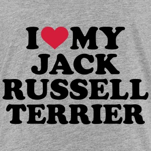 I love my Jack Russell Terrier T-Shirts - Kinder Premium T-Shirt