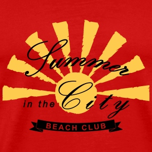 BEACH CLUB - Summer in the city T-Shirts - Männer Premium T-Shirt