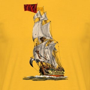 sailing ship T-Shirts - Männer T-Shirt