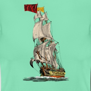 sailing ship T-Shirts - Frauen T-Shirt