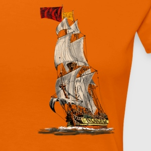 sailing ship T-Shirts - Frauen Premium T-Shirt