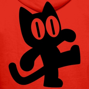 Cute Dancing Cartoon Cat by Cheerful Madness!! Hoodies & Sweatshirts - Men's Premium Hoodie