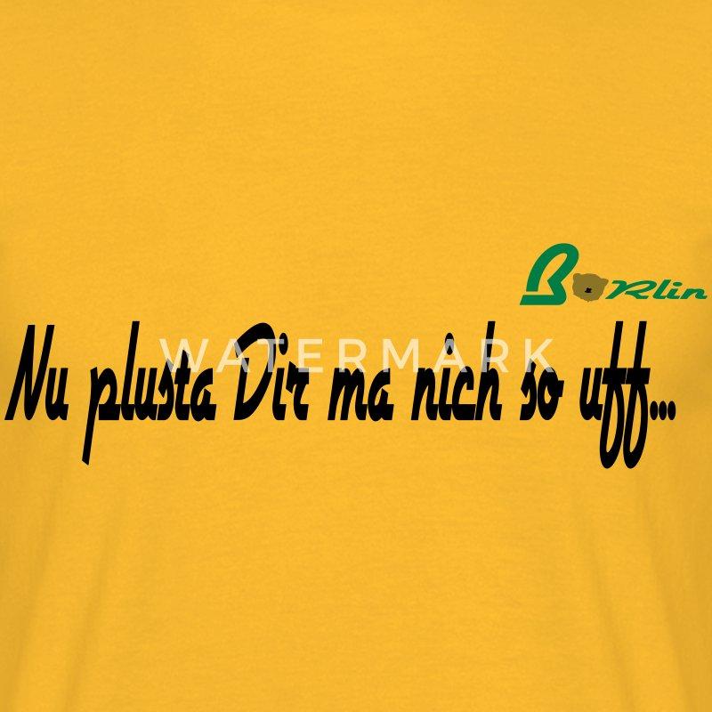 plusta - berliner sprüche - logo t-shirt   spreadshirt