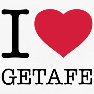 I LOVE GETAFE - Frauen Bio-T-Shirt