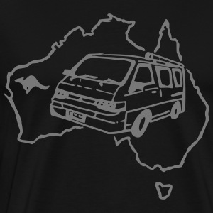 DOWN UNDER VAN - Männer Premium T-Shirt