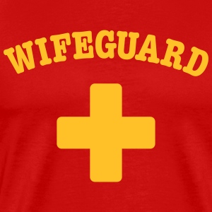 wife guard T-Shirts - Männer Premium T-Shirt