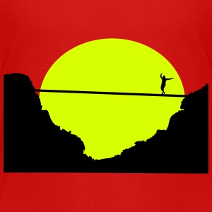 Slacklinging, Highline Shirts - Teenager Premium T-shirt