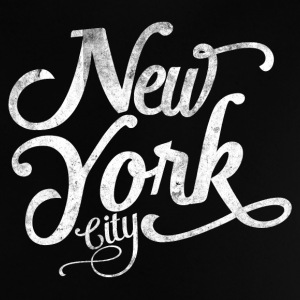 New York City typografi T-shirts - Baby-T-shirt