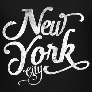 New York City typography Shirts - Kids' Premium T-Shirt