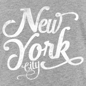 New York City typografi Skjorter - Premium T-skjorte for tenåringer