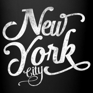 New York City tipografia Tazze & Accessori - Tazza monocolore