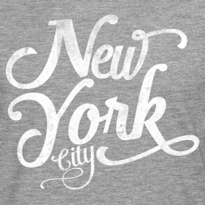 New York City typography Long sleeve shirts - Men's Premium Longsleeve Shirt