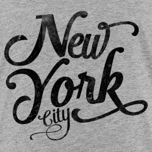 New York City typografi Skjorter - Premium T-skjorte for barn