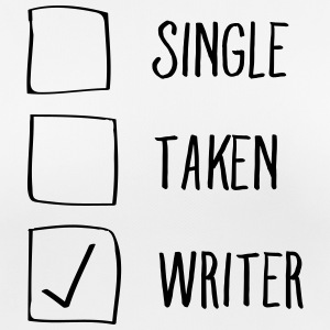 Single, Taken, Writer T-shirts - Andningsaktiv T-shirt dam